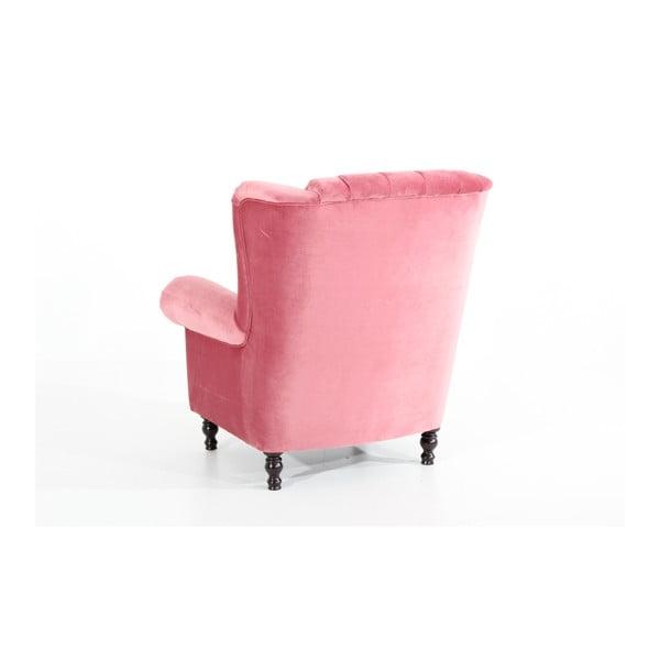 Vary Velvet rózsaszín fotel - Max Winzer