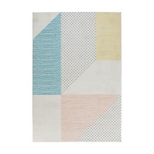 Madison türkiz-rózsaszín szőnyeg, 160 x 230 cm - Mint Rugs