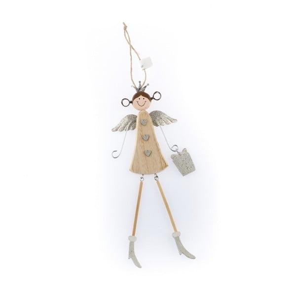 Angelina felakasztható angyal formájú fa dekoráció - Dakls