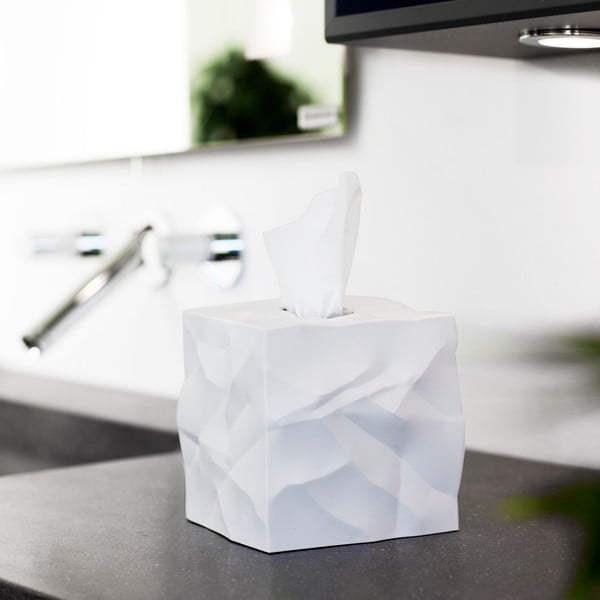 Wipy Cube White zsebkendőtartó doboz - Essey