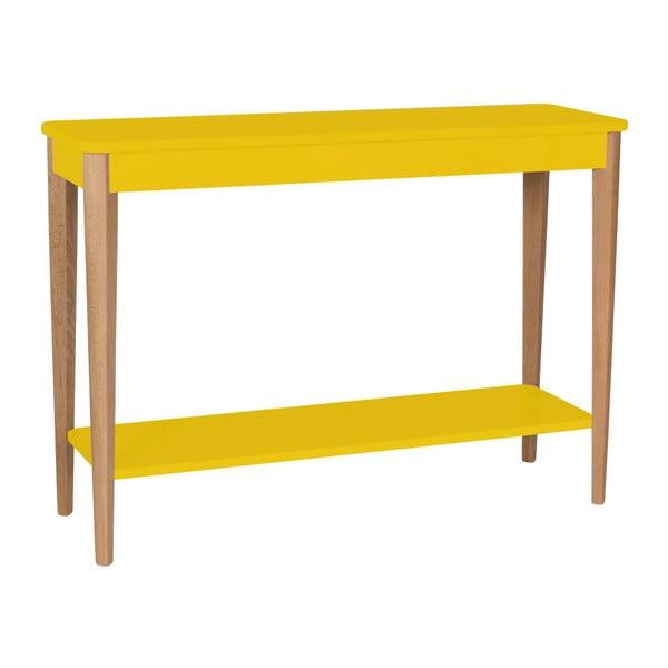 Ashme sárga konzolasztal, szélessége 105 cm - Ragaba