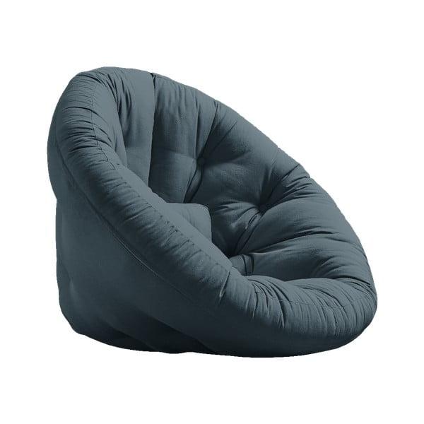 Nest Petrol Blue kék kinyitható fotel - Karup Design