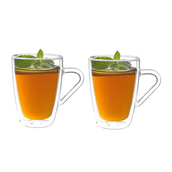 2 részes duplafalú teáspohár szett, 320 ml - Bredemeijer