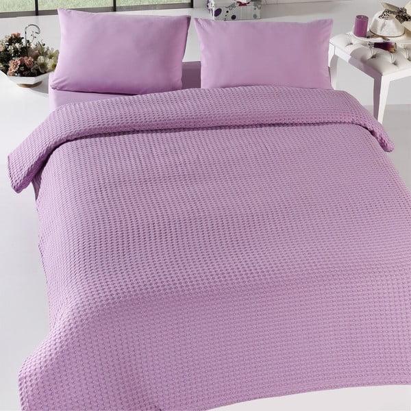 Burumcuk Lilac egyszemélyes ágytakaró, 160 x 240 cm