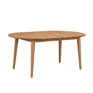 Mimi ovális tölgyfa bővíthető étkezőasztal, hosszúság max. 210 cm - Folke