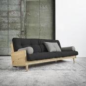 Indie Natural/Dark Grey/Granite Grey kinyitható kanapé - Karup