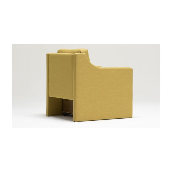 Home Laila sárga fotel tárolóval - Balcab