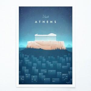 Athens plakát, A2 - Travelposter