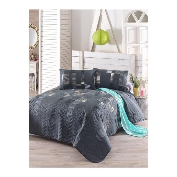 Tracy kétszemélyes steppelt ágytakaró párnahuzatokkal, 200 x 220 cm