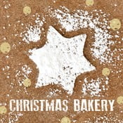 Sweet Christmas Bakery 10 db-os papírszalvéta szett karácsonyi motívummal - PPD