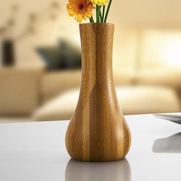 Lotus bambusz váza, 18 cm - Bambum