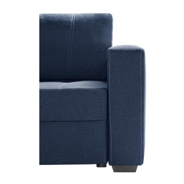 Succes kék kanapé, bal oldal - Interieur De Famille Paris