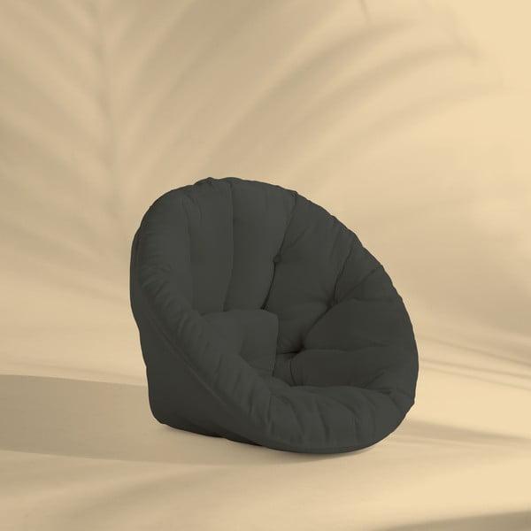 Design OUT™ Nido Dark Grey kinyitható sötétszürke kültéri fotel - Karup Design