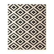 Hamla Diamond fekete szőnyeg, 120 x 170 cm - Hanse Home