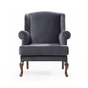 Home Jade sötétszürke füles fotel - Balcab