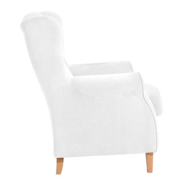 Lorris krémszínű füles fotel - Max Winzer
