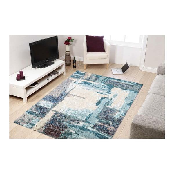 Leonore kék szőnyeg, 135 x 200 cm - Eco Rugs
