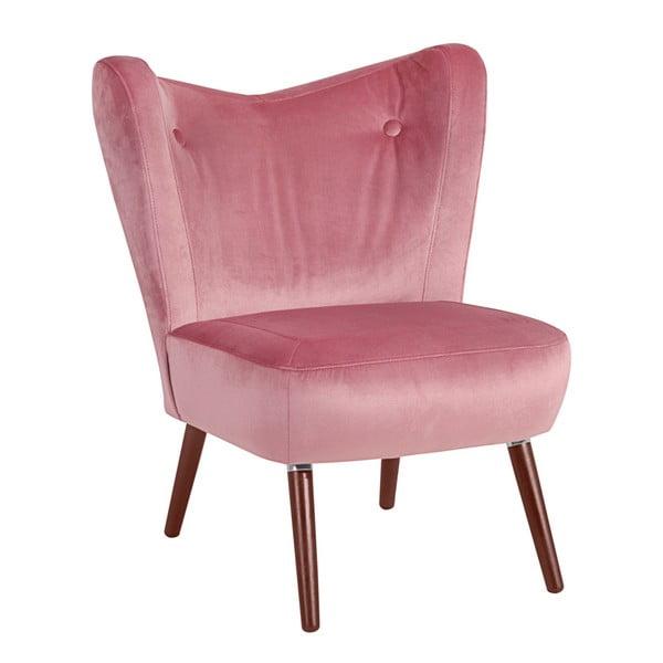 Sari Velvet rózsaszín fotel - Max Winzer