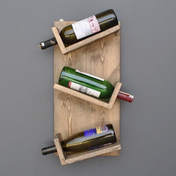 Sandra kézzel készített bortartó állvány