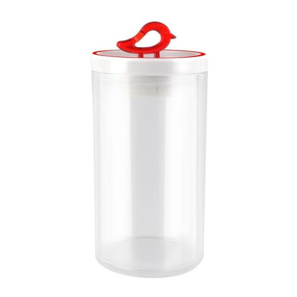 Livio piros konyhai tároló doboz, 1,2 l - Vialli Design