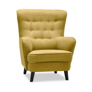 Fifties sárga füles fotel - Vivonita