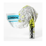 London gyűrhető turista térkép - Palomar