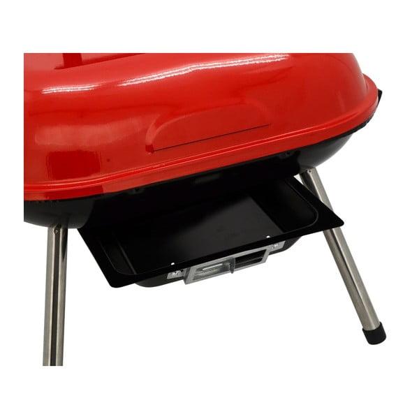 Table piros faszenes grillsütő - Cattara