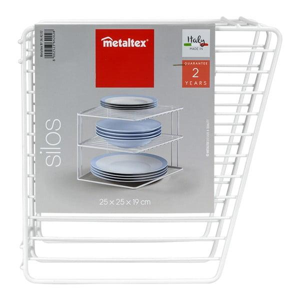 Silos háromemeletes konyhai tároló - Metaltex