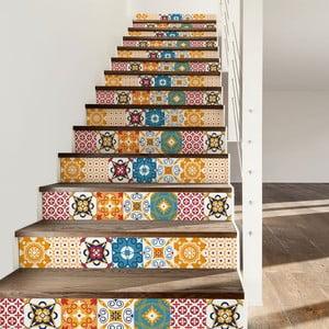Dola 2 db-os lépcsőmatrica szett, 105 x 15 cm - Ambiance