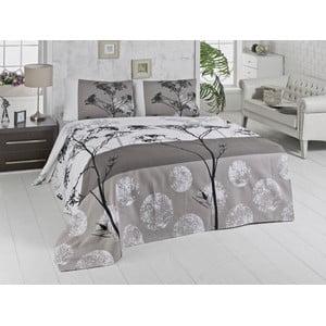 Belezza Grey kétszemélyes pamut ágytakaró, 200 x 230 cm