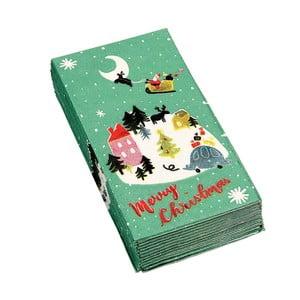 Christmas Wonderland 12 db karácsonyi szalvéta - Rex London