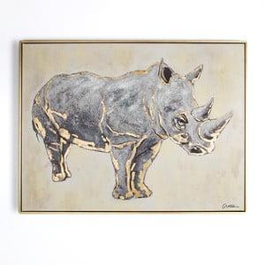 Rhino kézzel festett kép, 80 x 60 cm - Graham & Brown