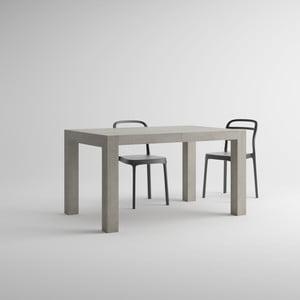 Iacopo betonmintás bővíthető étkezőasztal, hossza 140-220 cm - MobiliFiver