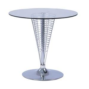 Cosmo kisasztal üveglappal, Ø 80 cm - Signal