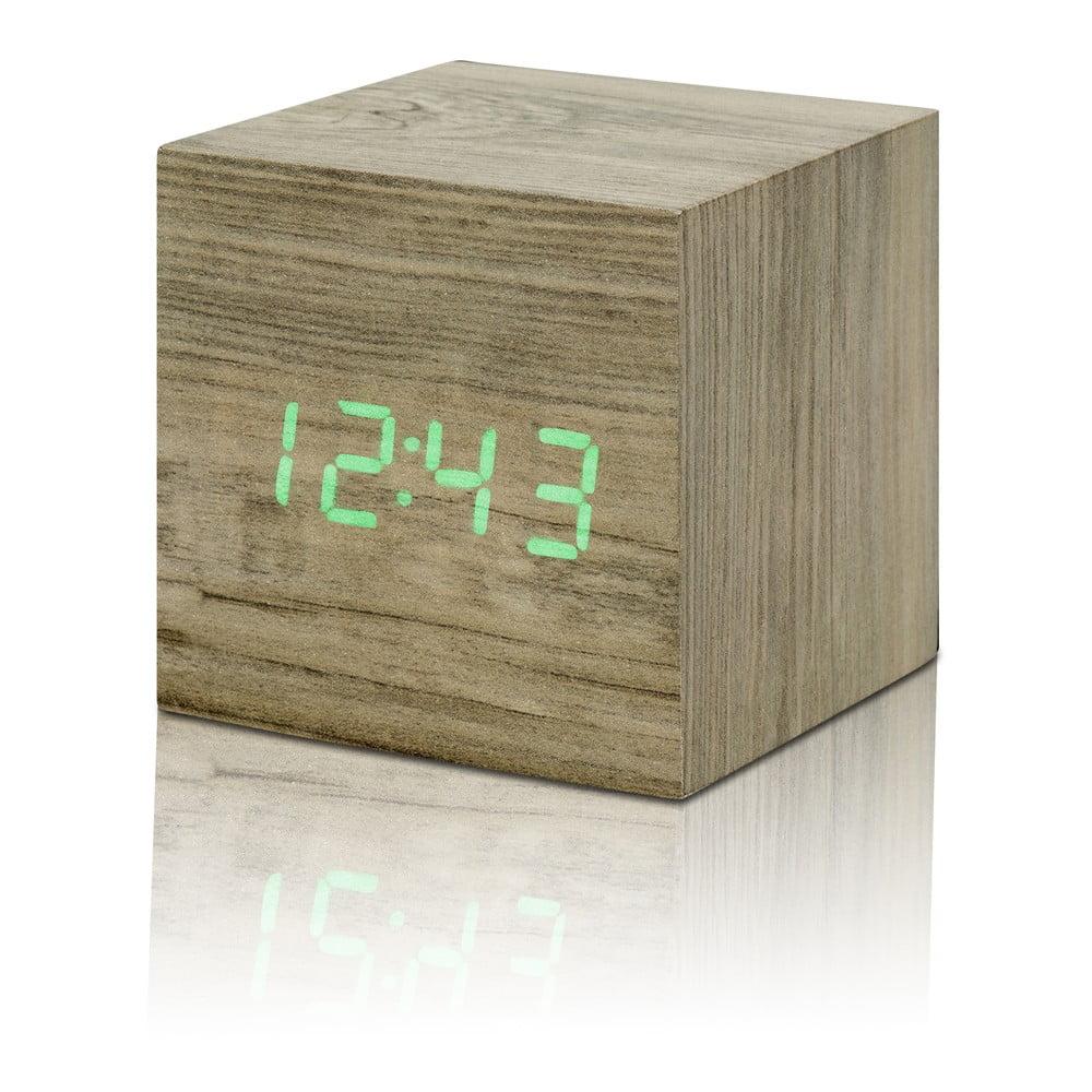 Cube Click Clock világosbarna ébresztőóra 92265a8cb2