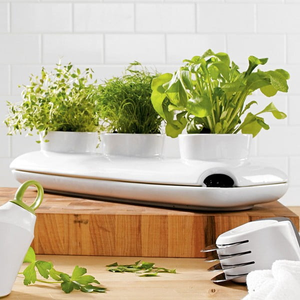 Trio Herb virágcserép fűszernövényekre - Sagaform