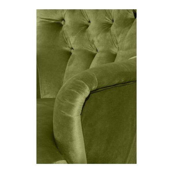 Brandon Suede zöld fotel - Max Winzer