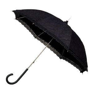 Falconetti Victorian fekete botesernyő, ⌀ 85 cm - Ambiance
