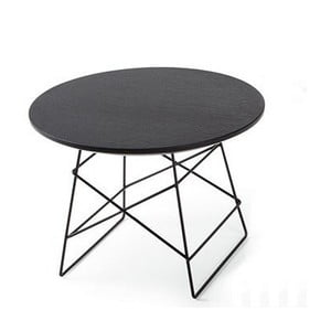 Grid fekete kisasztal, 70 cm - Innovation
