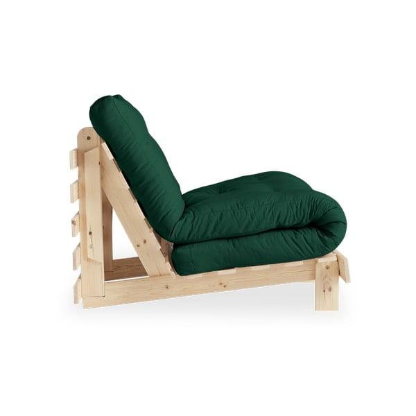 Roots Raw/Forest Green variálható fotel - Karup Design