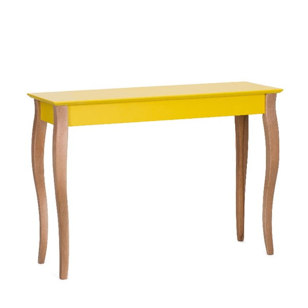 Dressing Table sárga konzolasztal, 105 x 74 cm - Ragaba