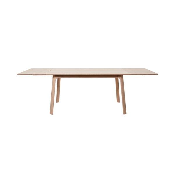 Vivara fehér tölgyfa kiegészítő elem étkezőasztalhoz - Unique Furniture
