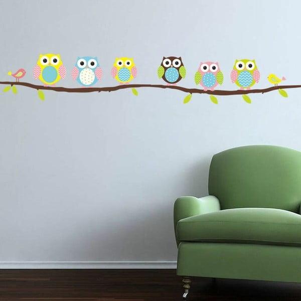 Owls and Birds on Tree falmatrica szett - Ambiance