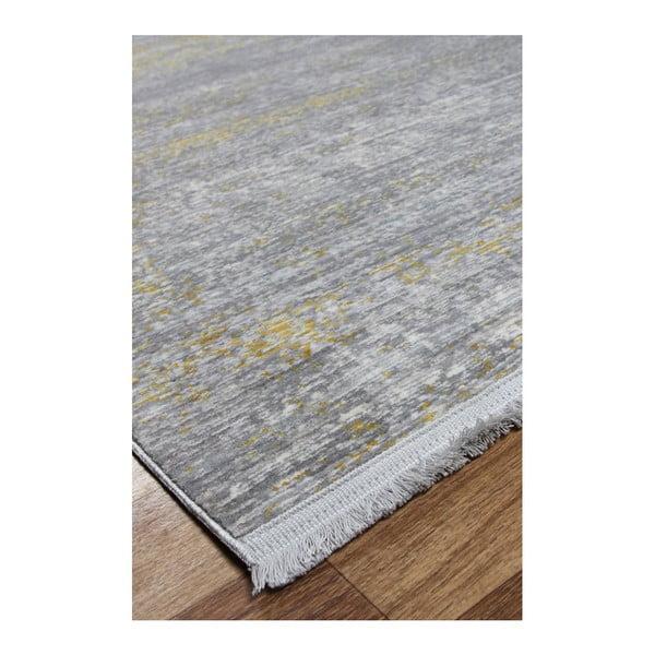 Shaggy Yellow szőnyeg, 133 x 190 cm