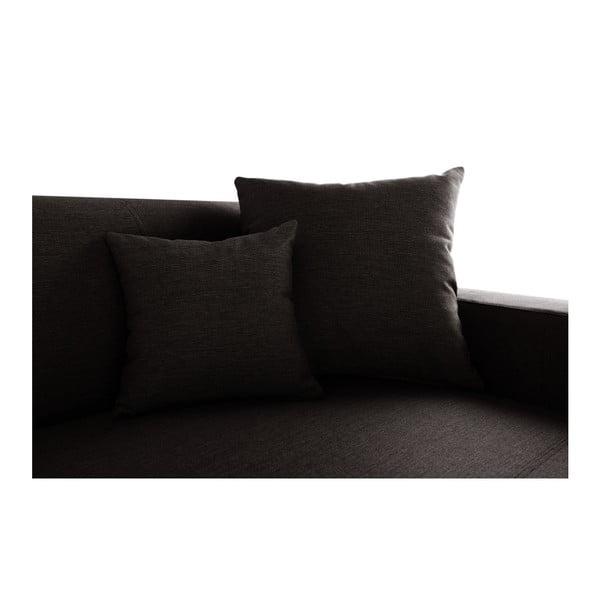 Perle sötétbarna kanapé, jobb oldalas - Interieur De Famille Paris
