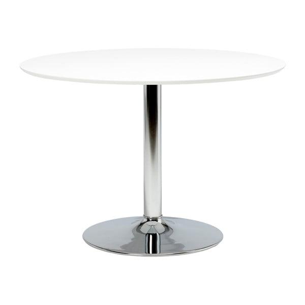 Ibiza kerek étkezőasztal üveglappal, ⌀110cm - Actona