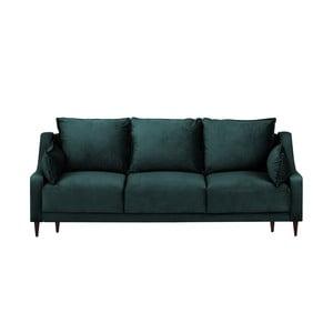 Freesia kékeszöld kinyitható háromszemélyes kanapé - Mazzini Sofas