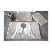 Alessia Angels 3 db-os fürdőszobai kilépő szett