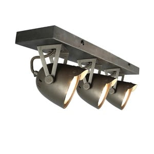 Šedé nástěnné svítidlo LABEL51 Spot Moto Cap Tres