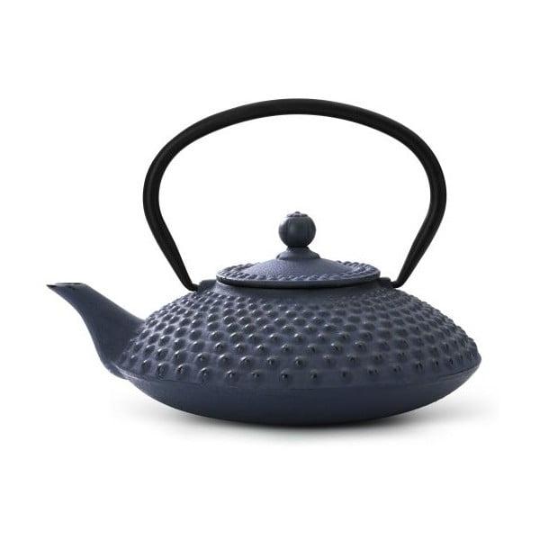 Xilin szürke öntöttvas teáskanna szűrővel, 1,25 l - Bredemeijer